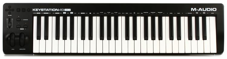 m audio keystation 49 mk3 keyboard controller sweetwater. Black Bedroom Furniture Sets. Home Design Ideas
