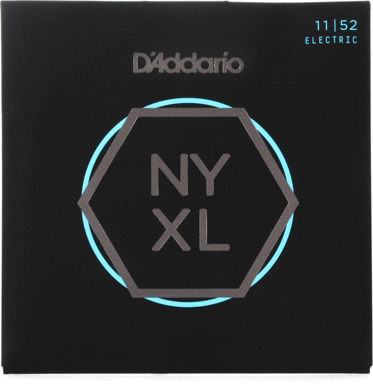 D\'Addario NYXL1152 Nickel Wound Electric Strings .011-.052 Medium Top/Heavy Bottom image 1