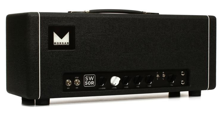 morgan amps sw50r 50 watt high headroom tube head with reverb sweetwater. Black Bedroom Furniture Sets. Home Design Ideas