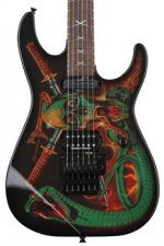 ESP George Lynch Signature - Skull and Snakes