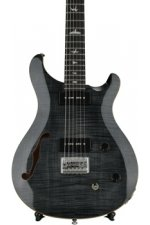PRS SE 277 Semi-hollow Soapbar Baritone - Gray Black