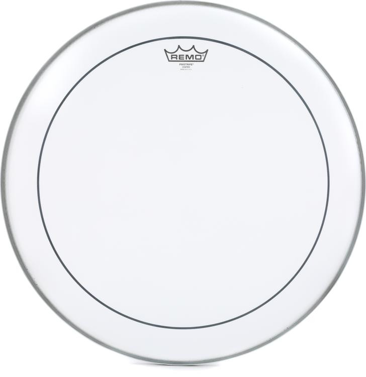 Remo Coated Pinstripe Bass Drum Head - 20