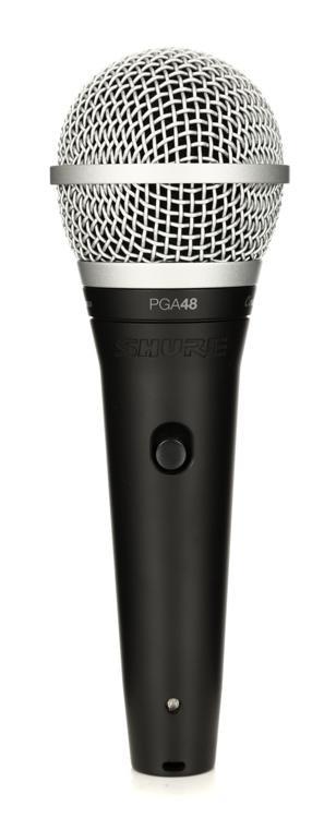 Shure PGA48 Handheld Dynamic Vocal Microphone image 1
