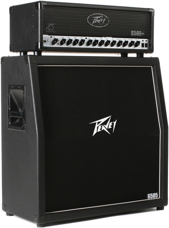Peavey 6505+ Half Stack - 120-watt Head and 4x12
