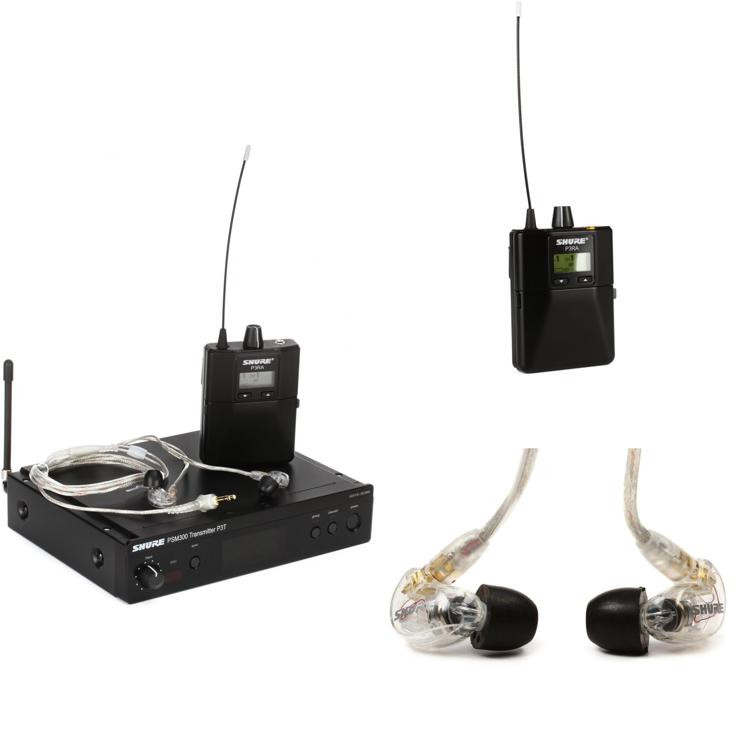 shure psm300 pro wireless dual in ear monitor system h20 band sweetwater. Black Bedroom Furniture Sets. Home Design Ideas