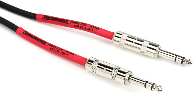 Pro Co BP-10 Excellines Balanced Patch Cable - 10\' image 1