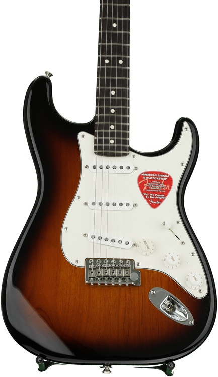 Fender American Special Stratocaster - 2-tone Sunburst with Rosewood Fingerboard image 1