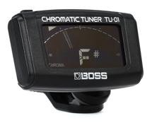 Boss TU-01 Clip-on Chromatic Tuner - Black