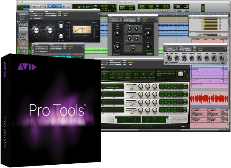 Avid Pro Tools 12 Software with Upgrade Plan (boxed - includes iLok) image 1
