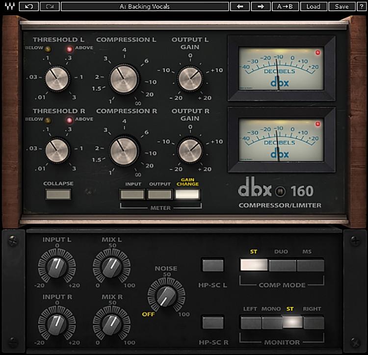 Waves dbx 160 Compressor / Limiter Plug-in image 1