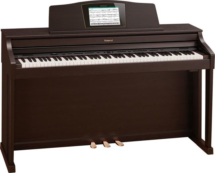Roland HPi-50e Digital Piano - Rosewood Finish image 1