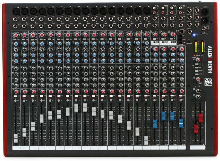 Allen & Heath ZED-24 Mixer image 1