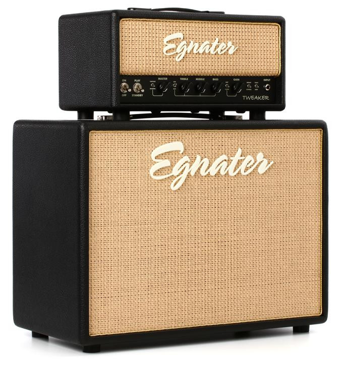 egnater tweaker 15 stack 15 watt tube head with 1x12 extension cabinet sweetwater. Black Bedroom Furniture Sets. Home Design Ideas