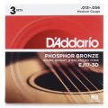 D'Addario EJ17 Phosphor Bronze Medium Acoustic Strings 3-Pack