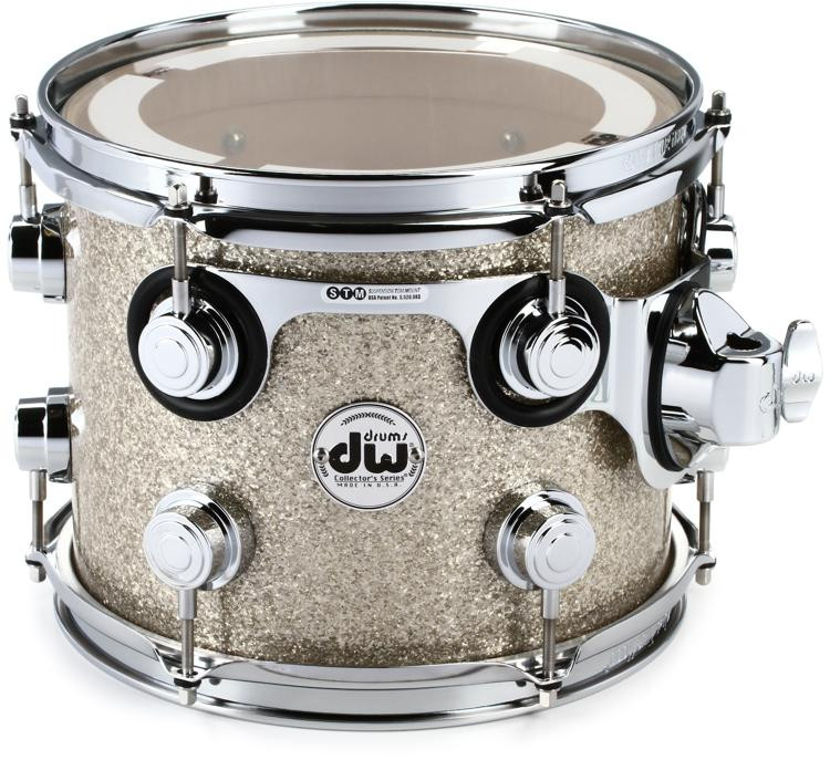 DW Collector\'s Series Finishply Mounted Tom - Maple - 8