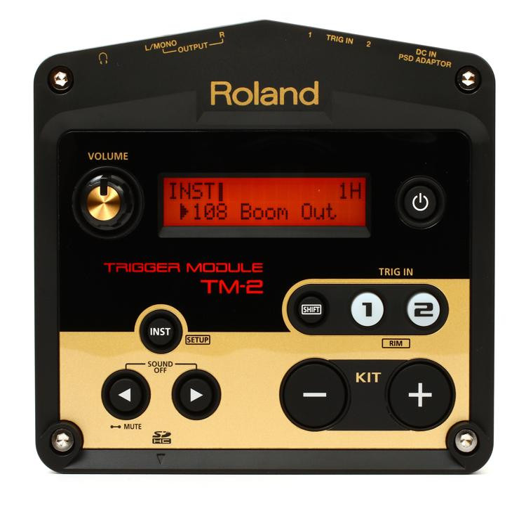 roland tm 2 trigger module sweetwater. Black Bedroom Furniture Sets. Home Design Ideas