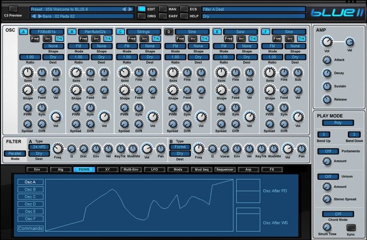 Rob Papen Blue-II Upgrade from Blue image 1