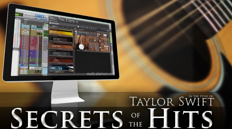 Multi Platinum Secrets of the Hits in the Style of Taylor Swift Interactive Course image 1