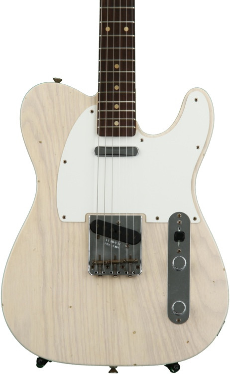 Fender Custom Shop 1959 Journeyman Relic Telecaster - Aged White Blonde with Rosewood Fingerboard image 1
