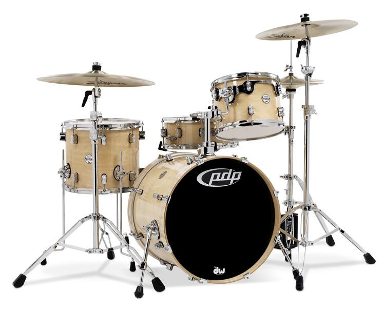 PDP Concept Maple Shell Pack - 4-piece - Natural Lacquer image 1