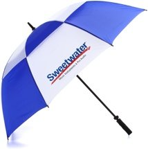 Sweetwater Umbrella - Blue/White