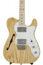 Fender '72 Telecaster Thinline - Natural with Maple Fingerboard