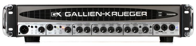 Gallien-Krueger 700RB-II 480+50-Watt Compact Bass Head image 1
