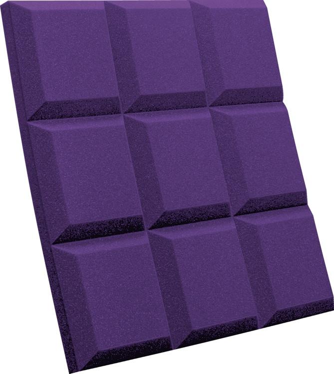 Auralex SonoFlat Grid - Purple image 1