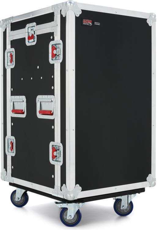Gator G-TOUR 10X12 PU - 10U Top, 12U Side Audio Road Rack Case image 1