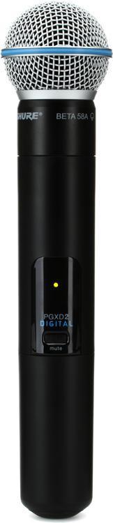 Shure PGXD2/Beta58 Handheld Wireless Transmitter - Handheld w/Beta58 image 1