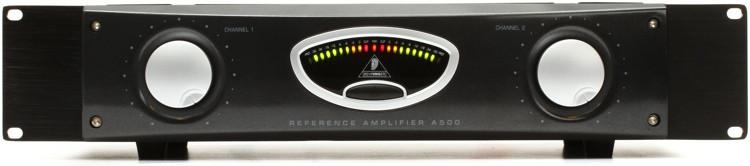 behringer a500 power amplifier sweetwater. Black Bedroom Furniture Sets. Home Design Ideas