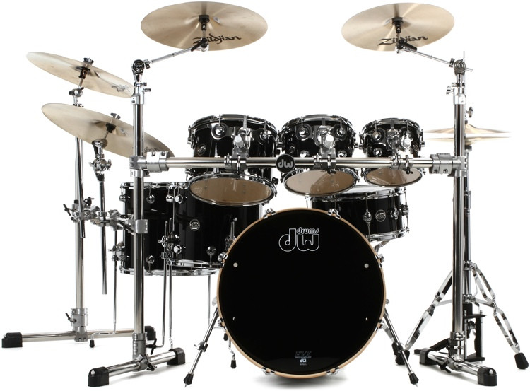 DW Performance Series 7-piece Shell Pack with Snare - 24