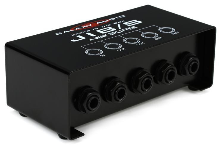 Galaxy Audio JIB/S 4-way 1/4