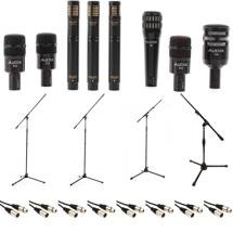 Audix DP7 Plus Drum Package with Stands and Cables