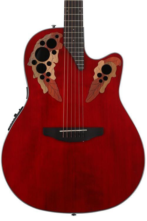 Ovation Elite Celebrity - Ruby Red image 1