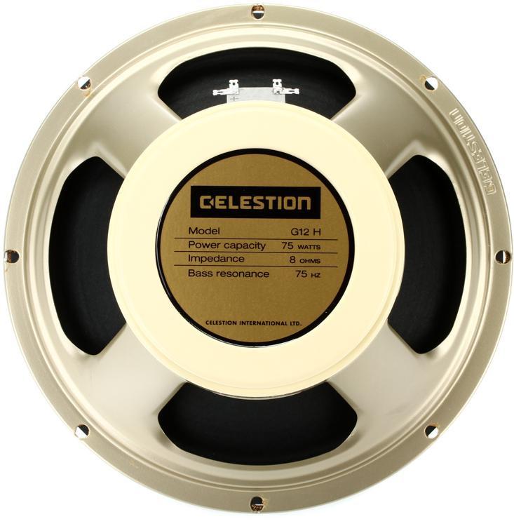 Celestion Creamback 75 : celestion g12h 75 creamback 12 75 watt replacement guitar speaker 8 ohm sweetwater ~ Russianpoet.info Haus und Dekorationen