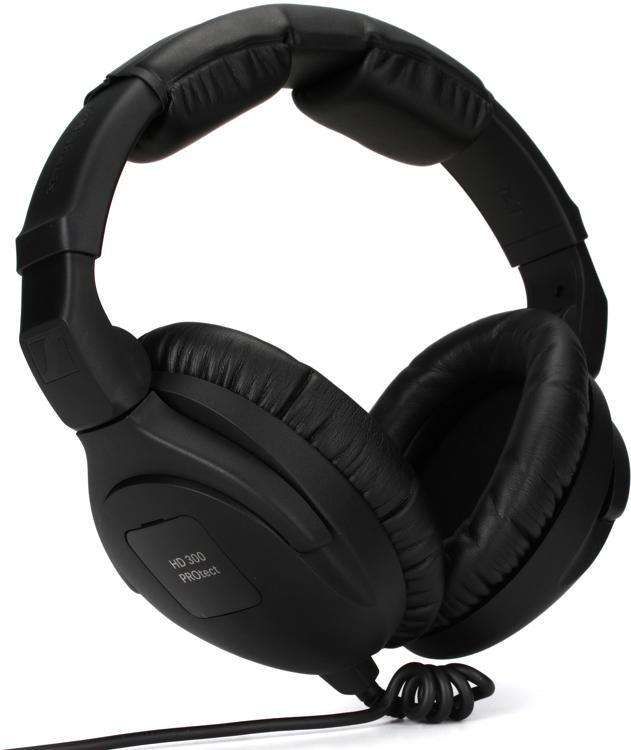 sennheiser hd 300 protect closed back activegard monitor headphones sweetwater. Black Bedroom Furniture Sets. Home Design Ideas