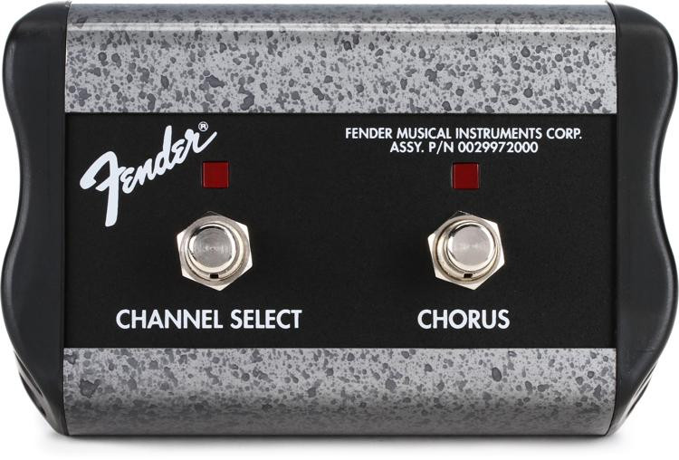 Fender 0994057000 2-Button Channel/Chorus Footswitch image 1