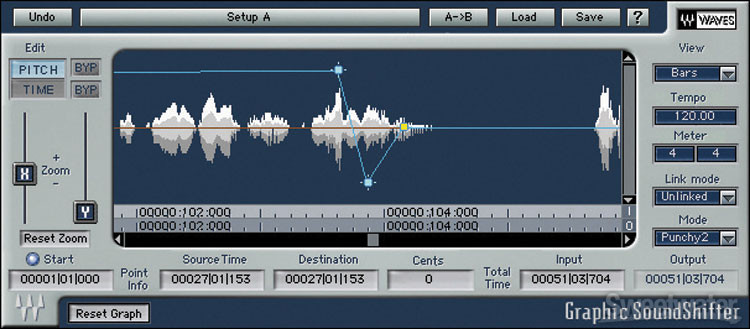 Waves SoundShifter Plug-in image 1