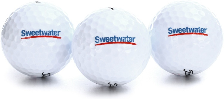 Sweetwater Golf Balls - 3-pack image 1
