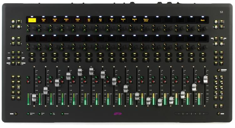 Avid Pro Tools S3 Control Surface image 1