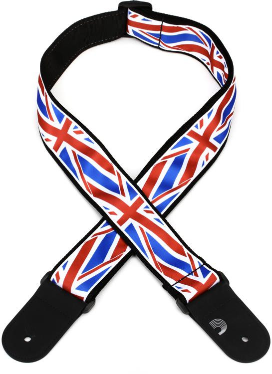 D\'Addario Planet Waves 50mm Woven Guitar Strap - Union Jack image 1