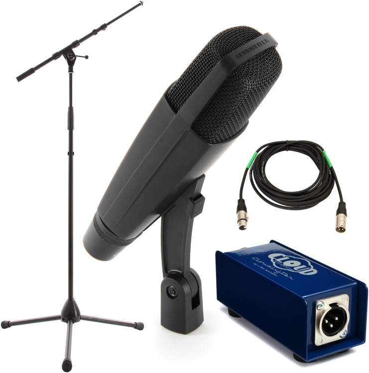 Sennheiser MD 421 Package - Stand and Cable image 1