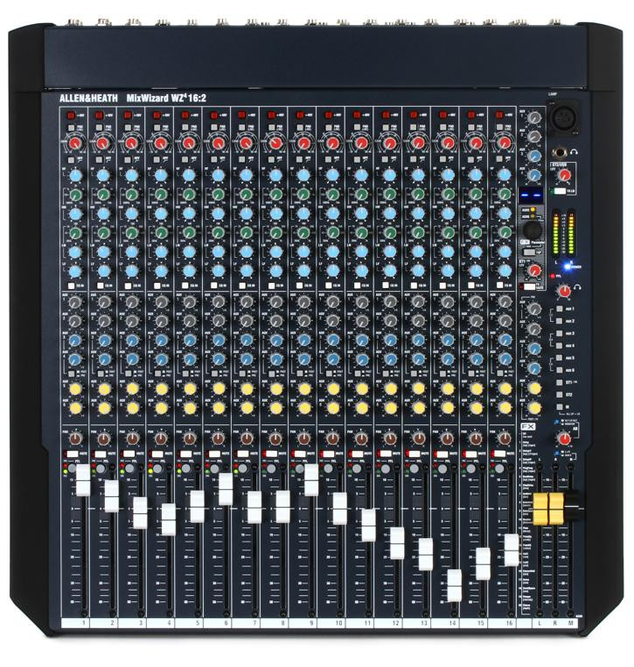 Allen & Heath MixWizard WZ4 16:2 Mixer with Effects image 1