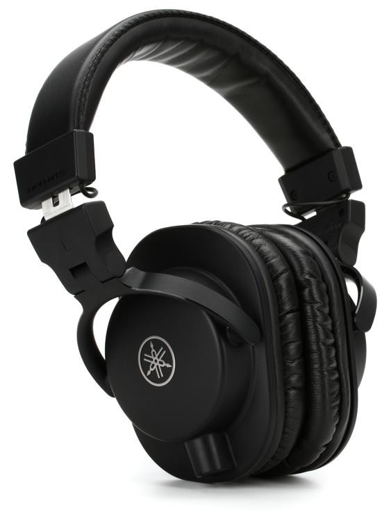 yamaha hph mt5 over ear headphones black sweetwater. Black Bedroom Furniture Sets. Home Design Ideas