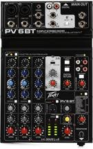 Peavey PV 6 BT Mixer with Bluetooth and Effects