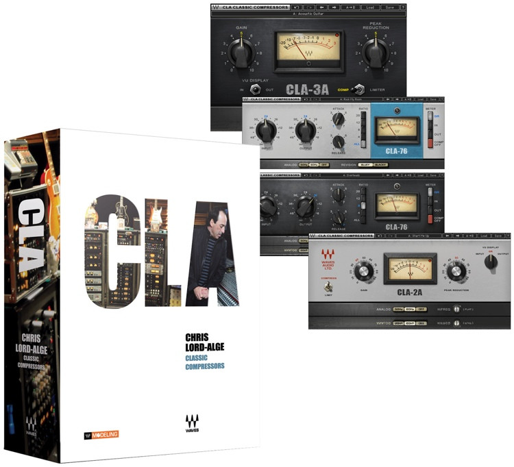 Waves cla classic compressors plug-in bundle | sweetwater.