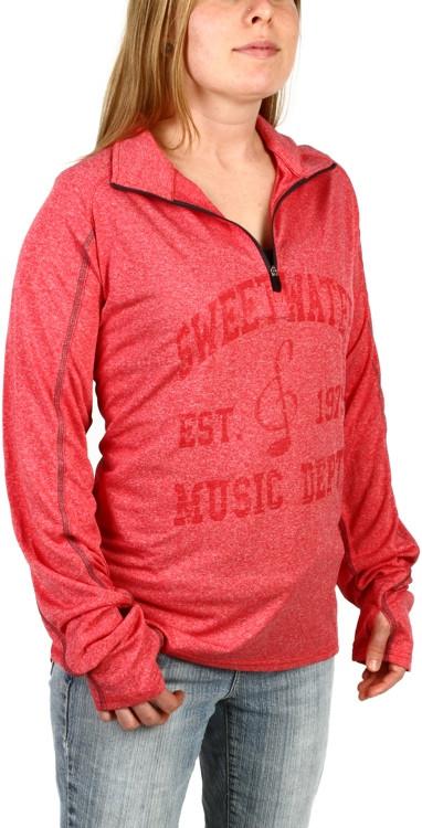 Sweetwater Quarter-zip Sweatshirt - Red, Large image 1