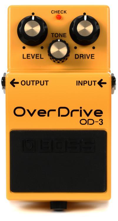 Boss OD-3 Overdrive Pedal image 1