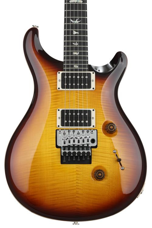 prs custom 24 floyd rose 10 top mccarty tobacco sunburst with pattern thin neck sweetwater. Black Bedroom Furniture Sets. Home Design Ideas